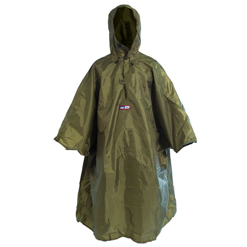 Poncho Medium Green